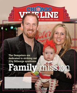 July 2010 Vine Line Cover: Ryan Dempster