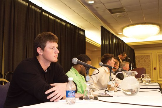 DJ LeMahieu on Cubs Convention Down on the Farm panel