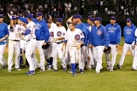 Tony Campana walks off with the Cubs.