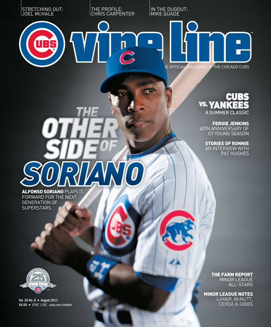August 2011 Vine Line cover