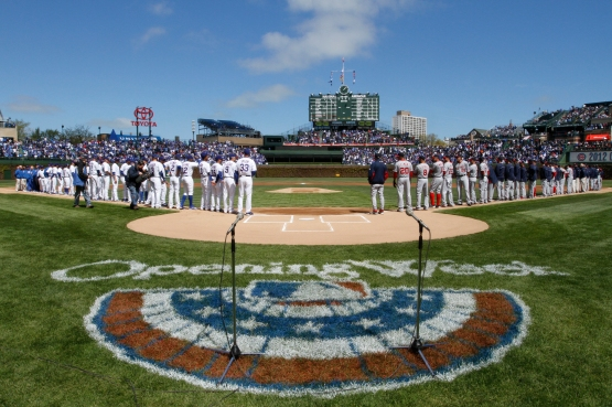 Opening Day 2012 Chicago Cubs