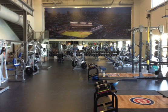 The Cubs dedicate the Under Armour Performance Center at Cubs Park