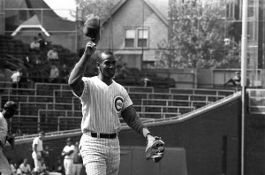 """I want my ashes to be spread over Wrigley Field, with the wind blowing out."" — Ernie Banks, Cubs Hall of Famer"