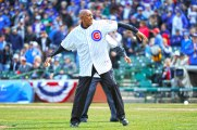 """There's a lot of enthusiasm, and generally there's a full house. I've had the opportunity to pitch seven Opening Days for the Cubs and throw a few ceremonial first pitches, but it's still a lot of fun to come here and see a lot of the fans that you knew and are still friends with."" — Fergie Jenkins, Cubs Hall of Famer"