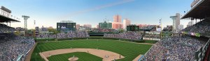 Wrigley Field Outfield Panoramic