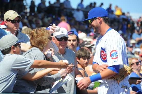 Spring training March 9, 2015   Padres @ Cubs
