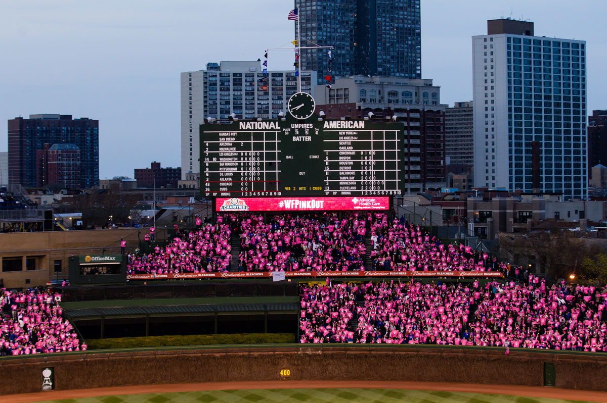 wrigley women Chicago — a woman was sexually assaulted at a foo fighters concert at wrigley field on sunday night according to the chicago police department, the 23-year-old woman was standing in line.