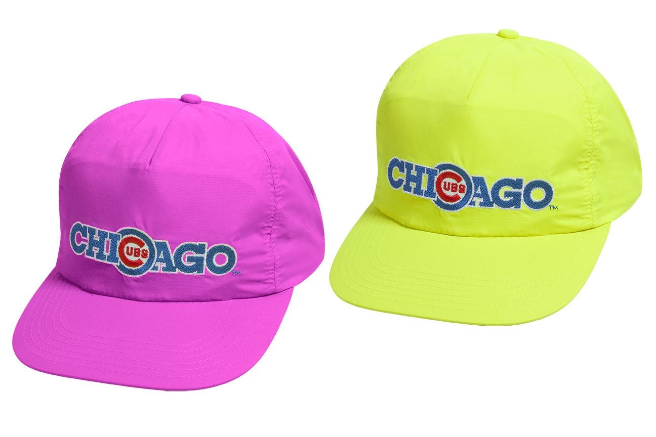 8a15c 67341 uk 90s day reissue caps neon pink and yellow f66fb 5ed2c  germany image is loading chicago cubs hat ... 8c088b48049