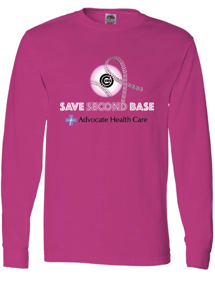 Save-second-base-advocate-pink-out-shirt